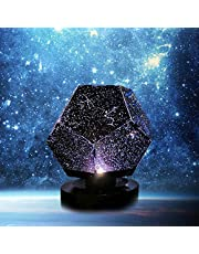 Chagoo Nova Stars Originele Home Planetarium Sterrenhemel Projectielamp USB Oplaadbaar? Projector Nachtlampje 3 Modes Constellation Galaxy 3D Lamp voor Kids Slaapkamer Thuis
