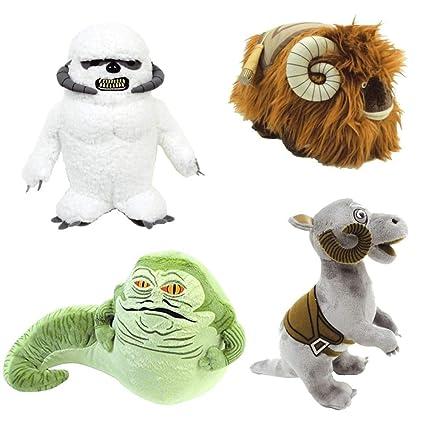 Amazon com: Star Wars Creatures Plush Set: Jabba The Hutt