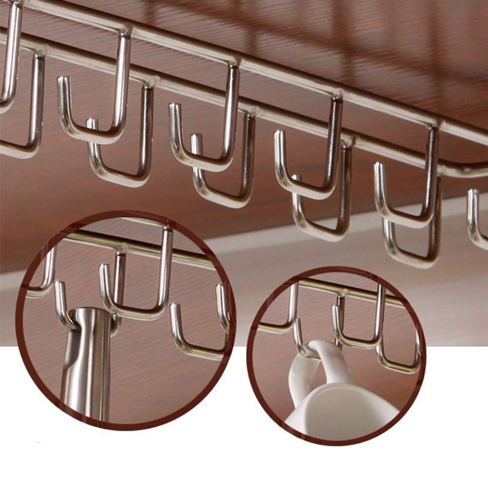 Shelf Storage Racks Shelf Baskets Kitchen Free Nail Creative Hanger Cupboard Wall Hanging Storage Rack ZHAOYONGLI (Size : 274.87.4cm) by ZHAOYONGLI-shounajia (Image #6)