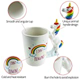 Unicorn Mug 3D Creative Art Coffee Mug Ceramic Milk
