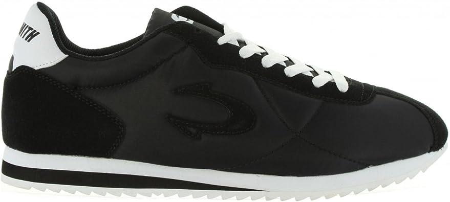 Zapatillas Deporte de Hombre y Mujer JOHN SMITH CORSAN 17I Negro Talla 43: Amazon.es: Zapatos y complementos