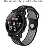 invella Replacement Strap for Fossil Q Smartwatches, Amazfit PACE & Stratos 2 Smartwatch (22mm-Sport-Grey)