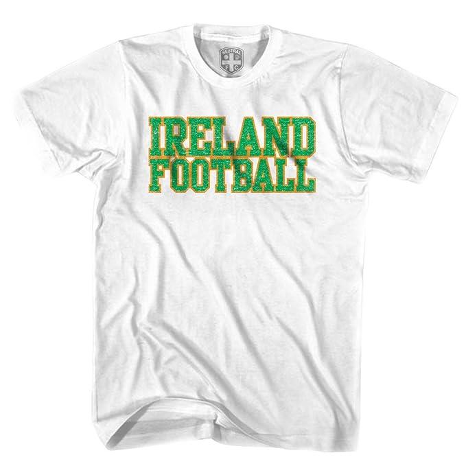 Irlanda Nación de fútbol camiseta de fútbol gris gris Jovenetud XL