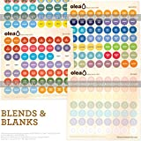 OLEA-Illustrated-Bottle-Cap-Labels-for-doTERRA-Essential-Oils--All-2017-doTERRA-Single-Oils-Blends-Bonus-Blank-Stickers--392-Essential-Oil-Sticker-Labels-For-Aromatherapy-Roller-Bottle-Storage