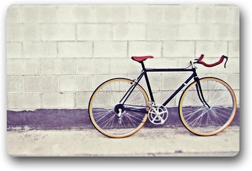Sr. Seis Custom lavable a máquina Felpudo (bicicleta y pared para ...