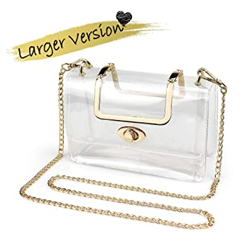 Amazon.com: COROMAY Clear Purse for Women/Girls, Clear ...
