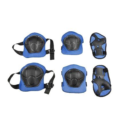 7556d9063c37 Kids Girls Boys Knee Elbow Wrist Pads Set Adjustable Collision Avoidance  Skate Roller Blading Cycling Biking