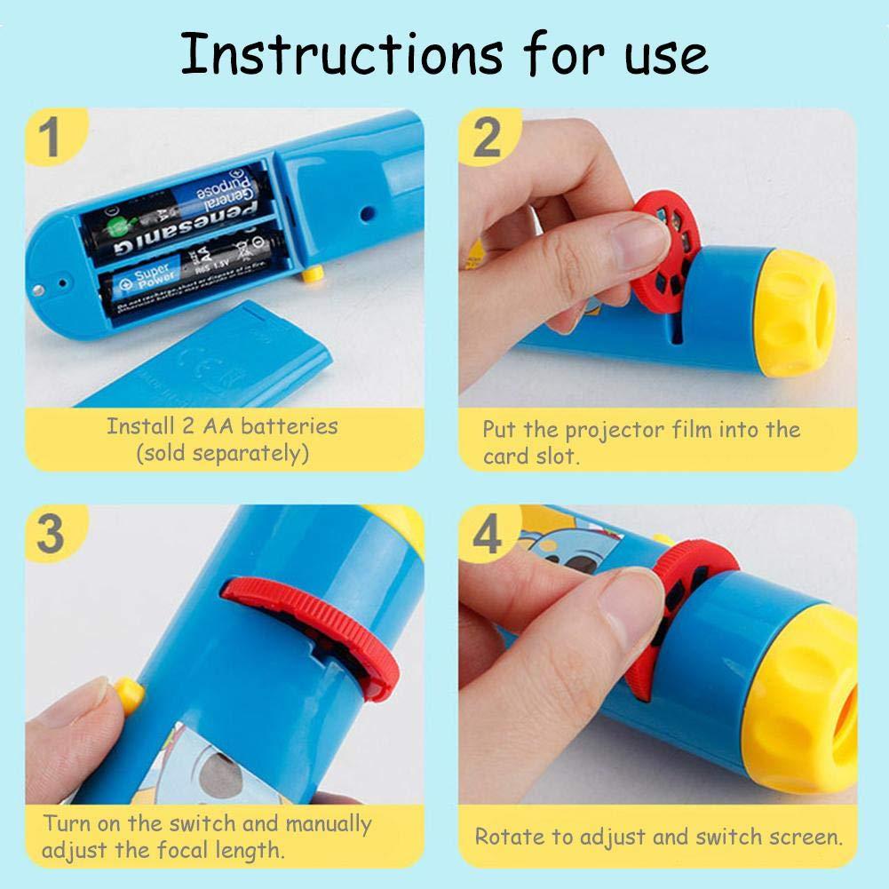 Childlike Linterna Proyector para Niños - Linterna Proyector ...