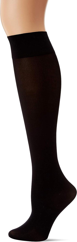 No Nonsense Womens Silky Opaque Knee High Trouser Sock