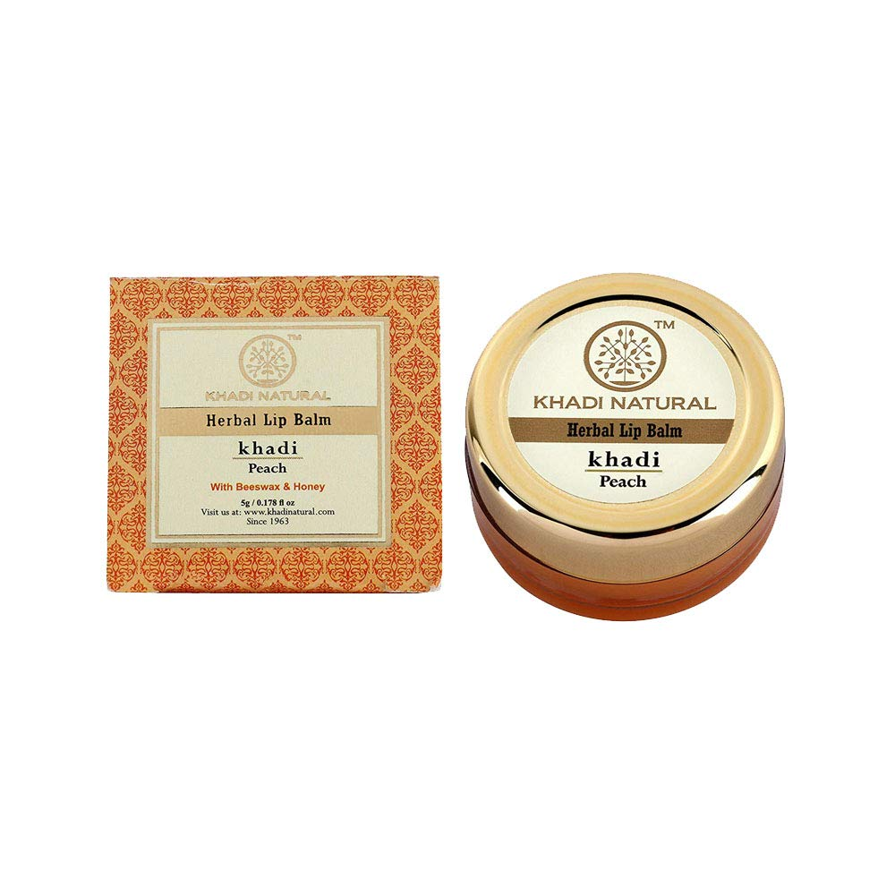 Khadi herbal Lip Balm - best natural lip balm in India
