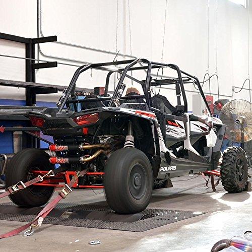 Big Gun Exhaust EVO Sport Utility Dual Full System, Color: Black, Material: Aluminum