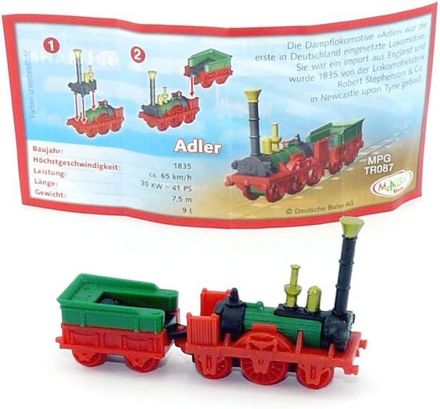 Autos - Z/üge - Loks Baujahr 1835 mit BPZ Kinder /Überraschung Adler Lok