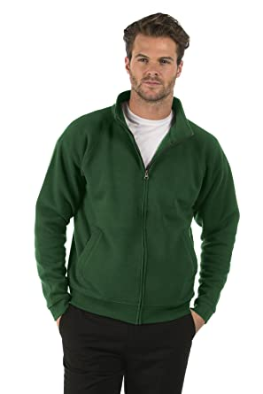 d09c2e0c53d2a Bruntwood Classic Full Zip Sweat Jacket - Mens   Ladies - 280GSM -  Cotton Polyester