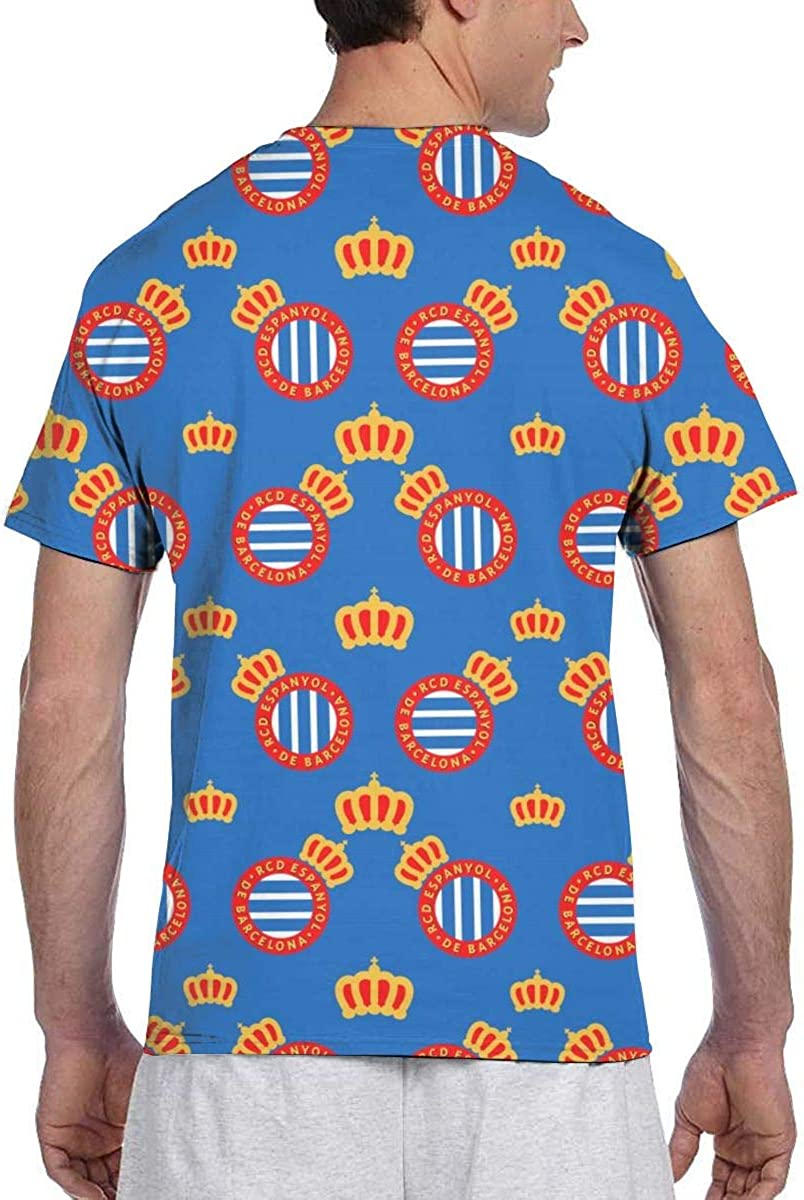 RCD-Espanyol Camiseta De Los Hombres, Imprimen Camiseta Camiseta ...