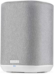 Denon Home 150 Wireless Speaker (2020 Model)   HEOS Built-in, AirPlay 2, and Bluetooth   Alexa Compatible   Compact Design   White
