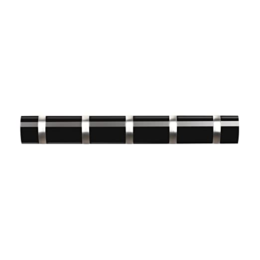 Umbra 318850-037 Percha de Pared Flip 5 Negro