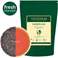 VAHDAM, Darjeeling​ Black Tea Leaves​ from Himalayas, (120+ Cups) 255g | 100% Certified Pure Unblended Darjeeling Tea | FTGFOP1 Grade Loose Leaf Tea | Packed & Shipped Direct from Source in India