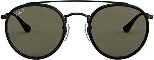 Ray-Ban RB3647N Round Double Bridge Sunglasses