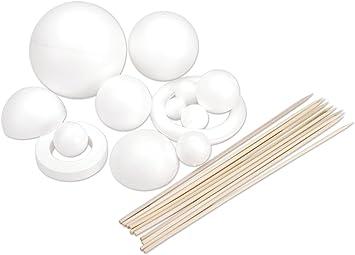 FloraCraft Styrofoam Solar System Kit White