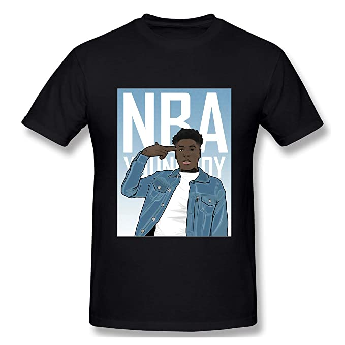 0eb1331dd Amazon.com: Rendechang NBA Youngboy Never Broke Again T- Shirts for ...