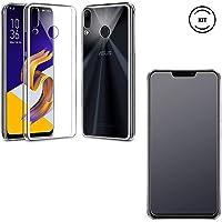 Capa Transparente Asus Zenfone 5z Zs620kl + Película de Vidro Temperado [Case Friendly]