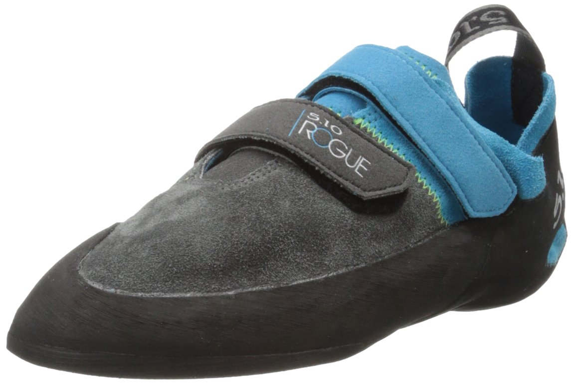 Five Ten Men's Rogue VCS Climbing Shoe Neon Blue/Charcoal 10.5 M US Rogue VCS-M