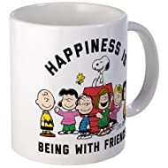 CafePress - Peanuts Happiness Is Friendship - Unique Coffee Mug, Coffee Cup