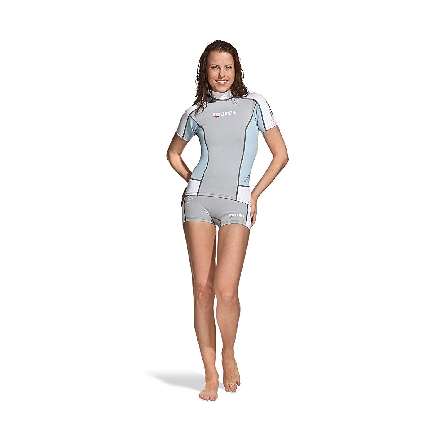 Color Gris Traje de Buceo para Mujer Mares Thermo Guard L-Sleeve 0.5 She Dives