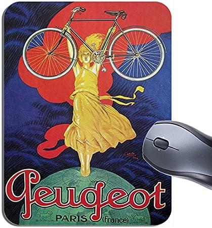 Peugeot Vintage para bicicleta Ad alfombrilla de ratón ...