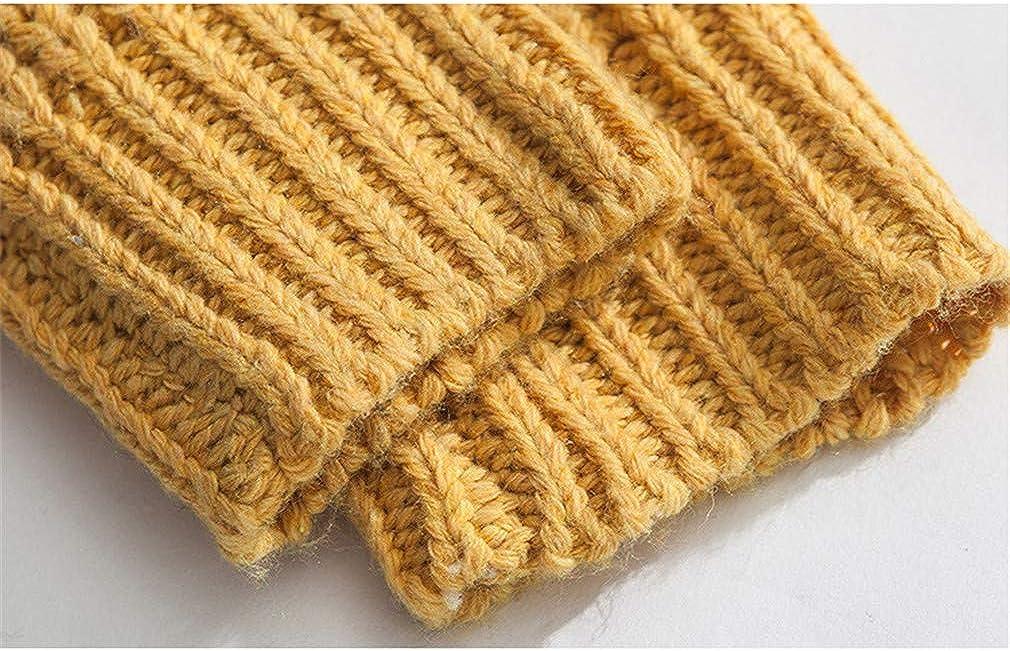 Usopu Mens Color Block Basis Crew Neck Long Sleeve Sweater