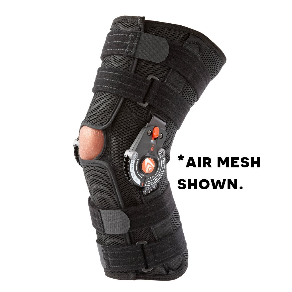 BREG '00366 Recover Knee Brace, Long, XXL, Neoprene by BREG
