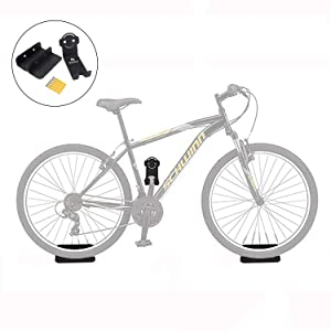 Bike Hook Wall Mount Hanger - Heavy Duty Horizontal Indoor Storage Rack for 1 Bicycle - Safe and Secure - Hanging Your Road, Mountain or Hybrid Bikes in Home, Garage, or Outdoor