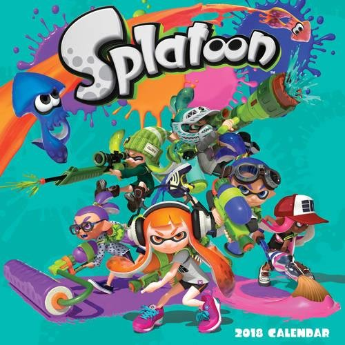Splatoon™ 2018 Wall Calendar cover