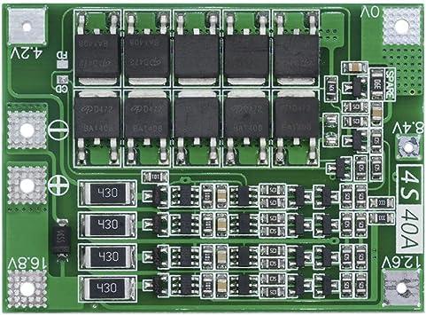 con e-Switch BMS balanceador protección circuito 40a para 10s//36v Li-ion packs