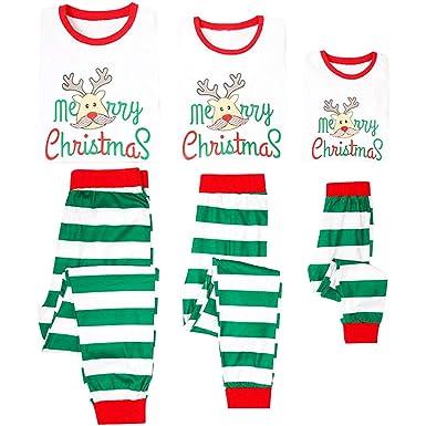 Family Matching Pajamas Christmas Pyjamas Sets - Loungewear Long Sleeve  Sleepwear Xmas Striped Clothes Set Nightwear 96db59c08