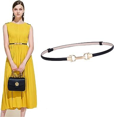 Fashion Women Skinny Lady Girl Skinny Waist PU Belt Thin Leather wide Waistband