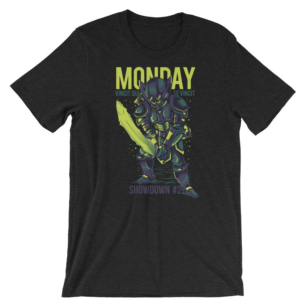 Monday Strikes Monday Showdown #2 Short Sleeve Unisex T-Shirt