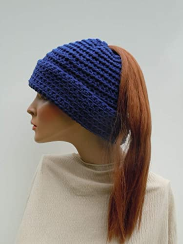 49a6261037e5c Image Unavailable. Image not available for. Color  Ponytail Hat