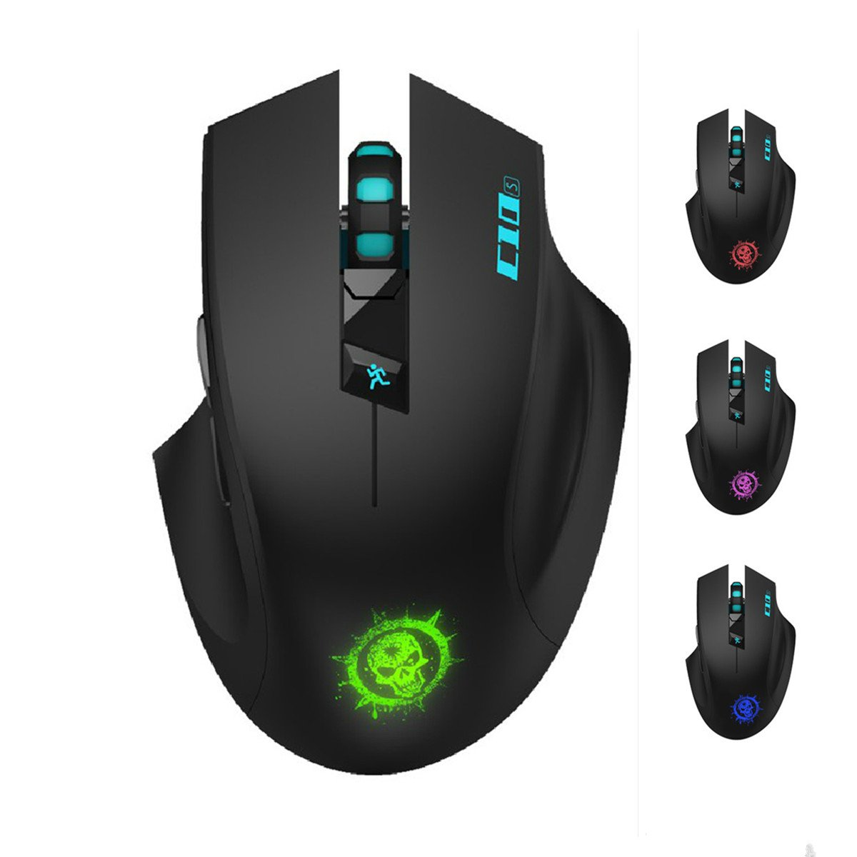 mouse gaming SROCKER C10s 2.4GHz