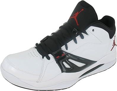 Nike Men's NIKE JORDAN ACE 23 BASKETBALL SHOES Men (WHITE/GYM RED/BLACK)