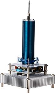 Joytech Music Tesla Coil Acrylic Base Shell Arc Plasma Loudspeaker Wireless Transmission Experiment Desktop Toy Model (YS03)