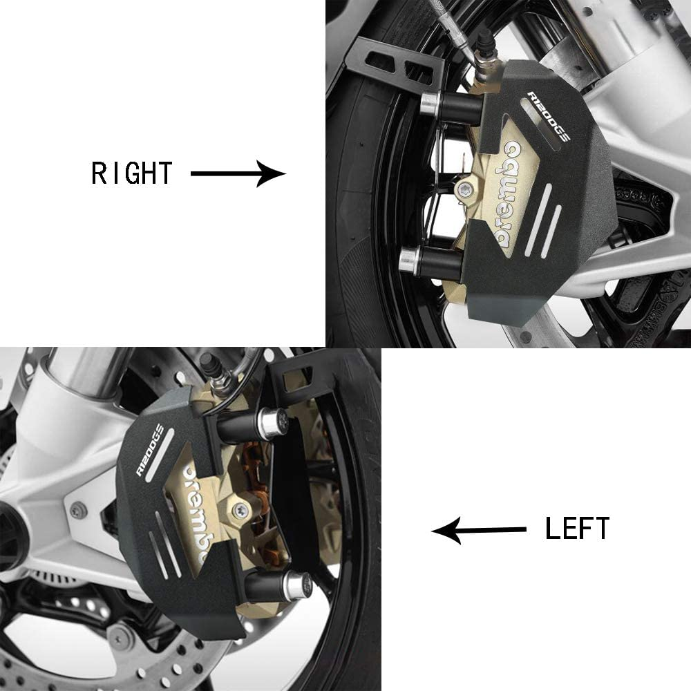 Protection de Bo/îtier de Moteur Avant de Moto pour BMW R1200GS LC 2013-2017 R1200GS LC ADV 2014-2019-Noir