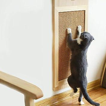 Chen0-super - Rascador para Gatos de cartón con Caja, Resistente y ...