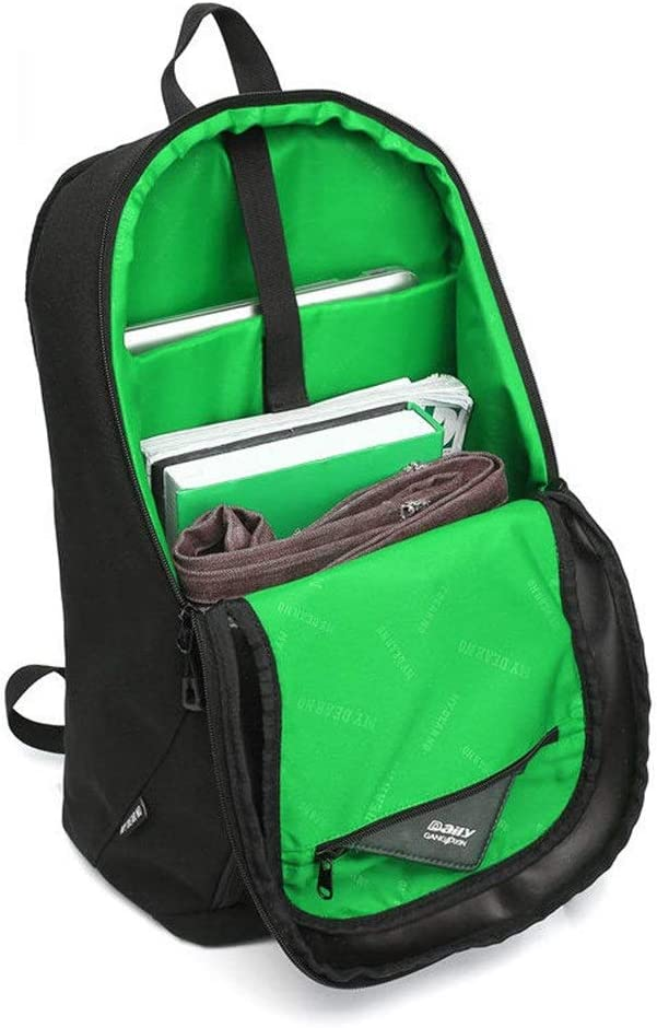 YADSHENG Camera Bag Multifunction Camera Video Camcorder Bags Large Capacity 2 in 1 DSLR Camera Bag Backpack Camera Shoulder Bag Color : Green, Size : 44x30x16cm