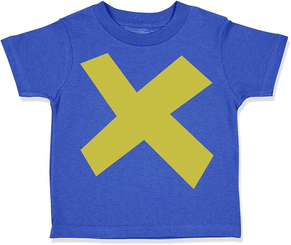 Custom Toddler T-Shirt Multiplication Sign Sharp-Edged School Graduation Cotton