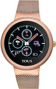 Reloj Tous Round Touch 000351650 - Reloj de Actividad en Acero Inoxidable Chapado en Rosado