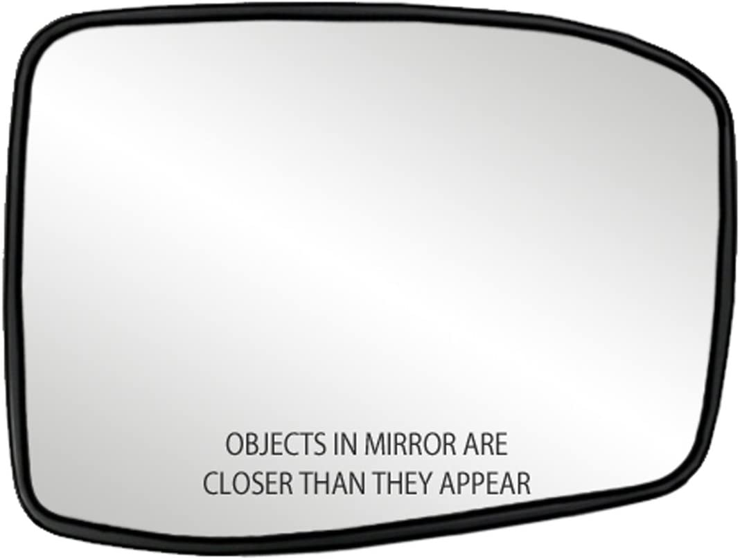 Fit System 30257 Honda Odyssey Right Side Heated Power Replacement Mirror Glass with Backing Plate