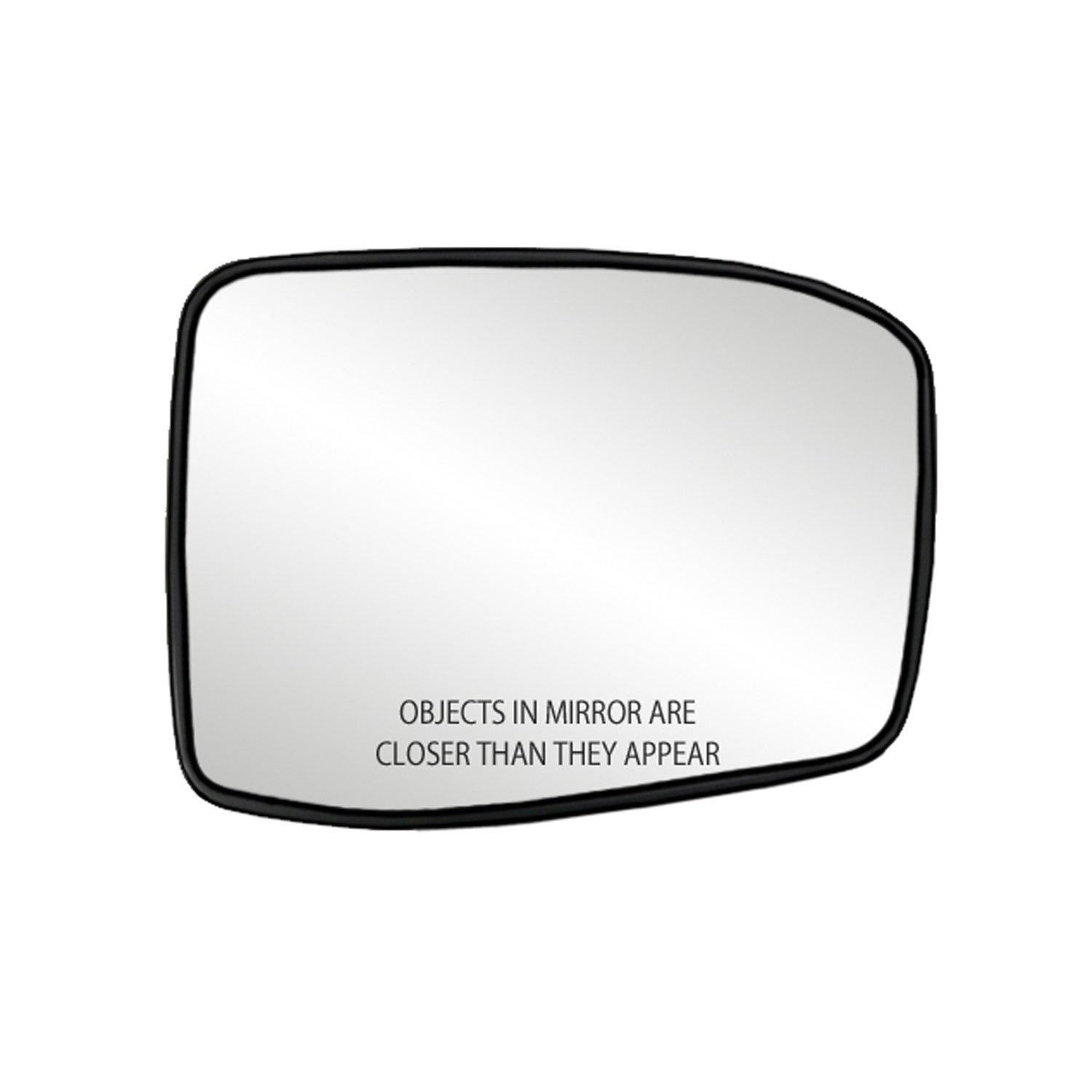 Fit System 33257 Honda Odyssey Left Side Heated Power Replacement Mirror Glass with Backing Plate