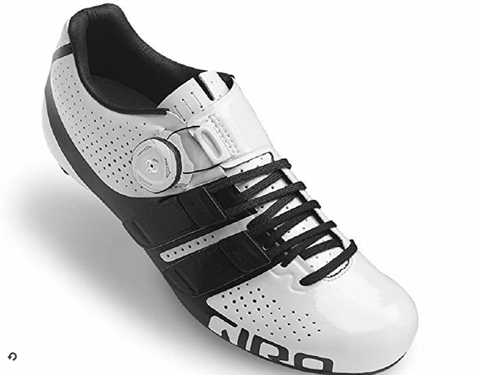Giro Factress Techlace White Black Ladies Road Bike Shoes