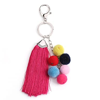 Amazon.com: powerfulline Multicolor felpa Bolas borlas ...